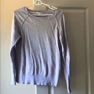 Lilac with silver shimmer light sweater